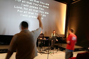 Worship at Life Church, Southampton